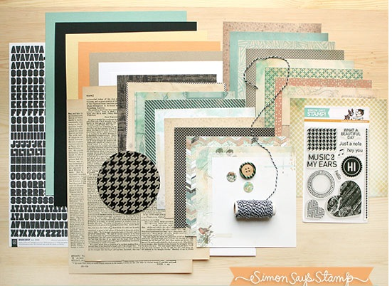 Simon Says Stamp Card Kit JUST A NOTE zoom image