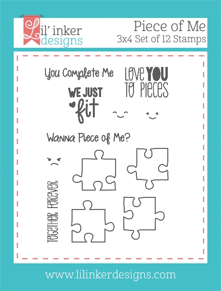 Lil' Inker Designs PIECES OF ME Clear Stamp Set LIL130 zoom image