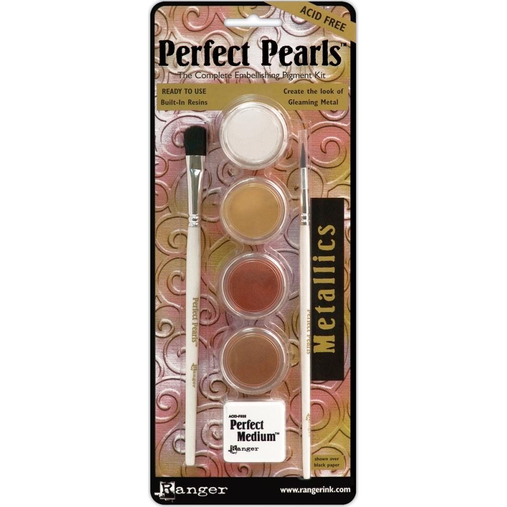 Ranger Perfect Pearls METALLICS Complete Pigment Kit PPP15963 zoom image