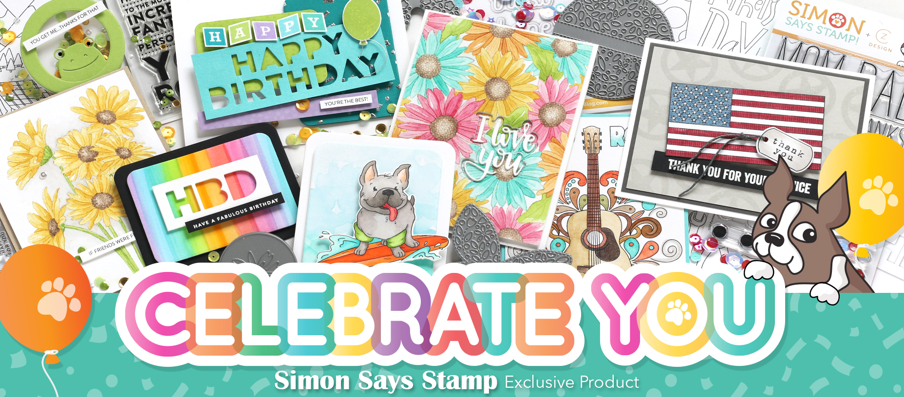 Simon Says Stamp Exclusive Collection Celebrate You
