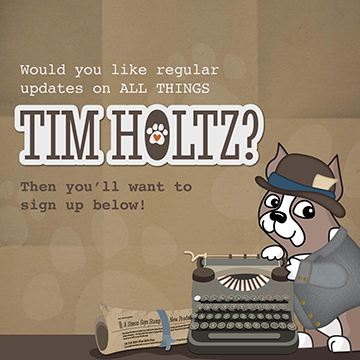 Tim Holtz Newsletter Signup