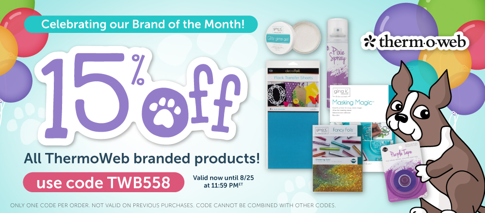 Therm O Web Brand of the Month Sale