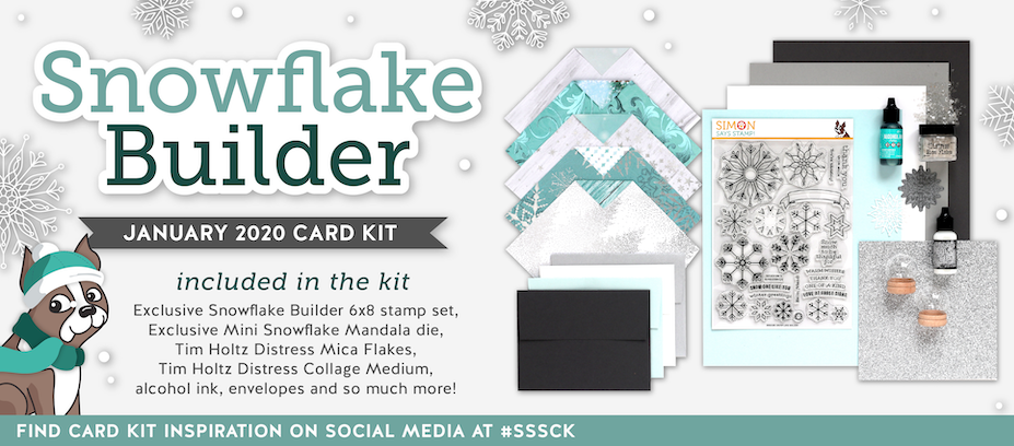 January 2020 Card Kit Snowflake Builder