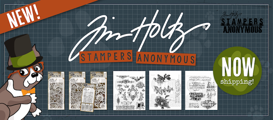 New Tim Holtz February 2020 Stamps and Stencils