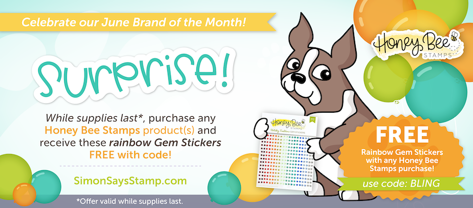 HoneyBee Stamps Brand of the Month!