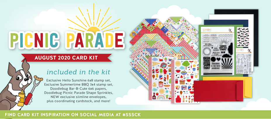 August 2020 Picnic Parade Card Kit