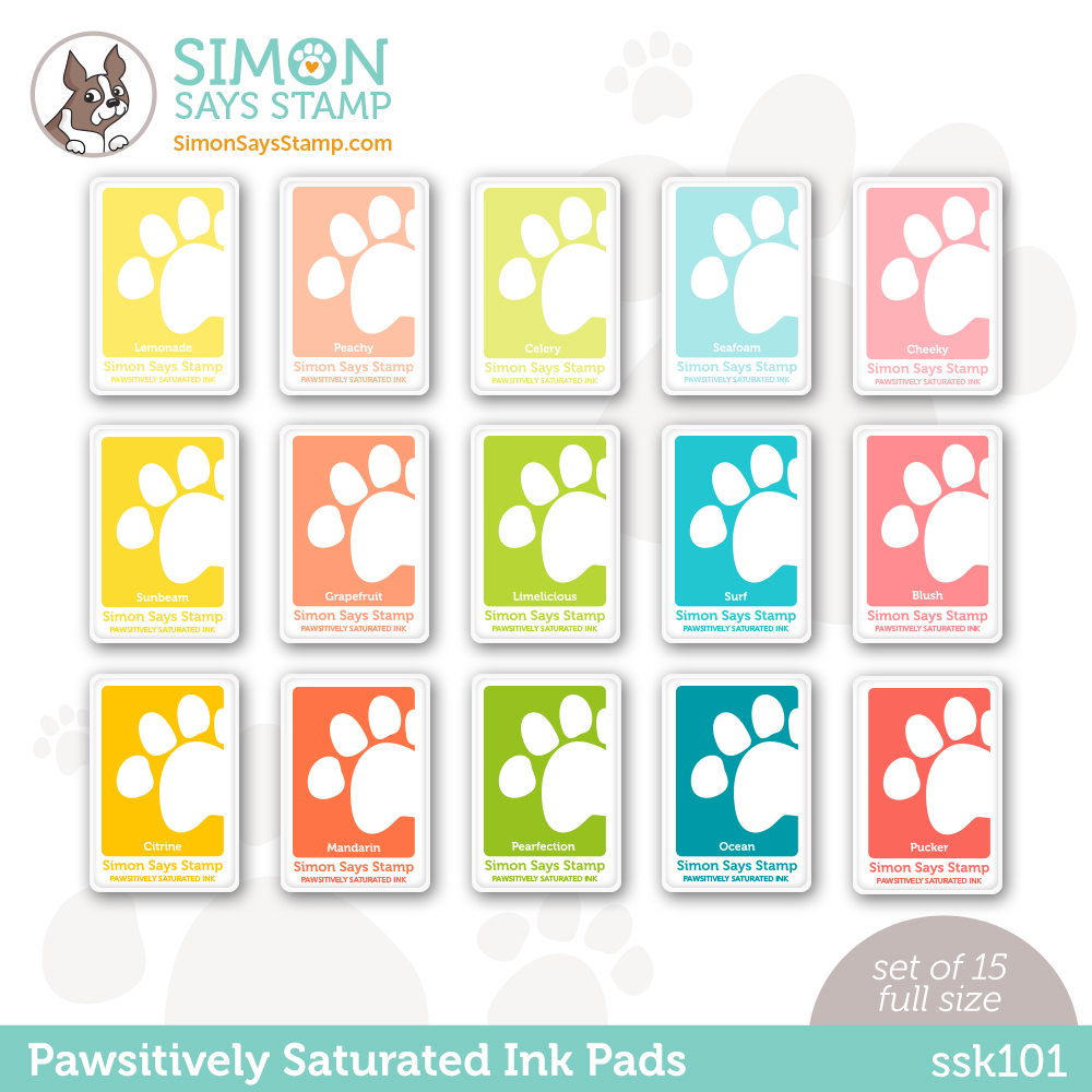 Simon Says Stamp Pawsitively Saturated Ink Set GRADIENT 1 ssk101 Stamptember