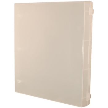 Crafter's Companion FULL SIZE CLEAR ENCLOSED STAMP BINDER EZ Mount SS21