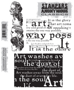Stampers Anonymous Cling Rubber Stamps CLASSICS #4 SCF004 zoom image