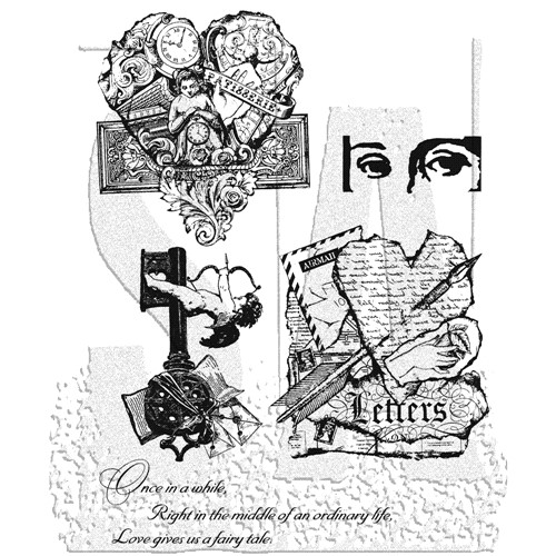 Stampers Anonymous Cling Rubber Stamps CLASSICS #8 SCF008 Preview Image
