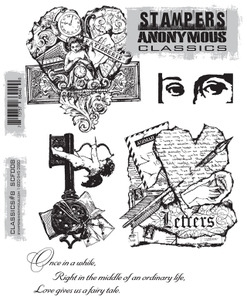 Stampers Anonymous Cling Rubber Stamps CLASSICS #8 SCF008