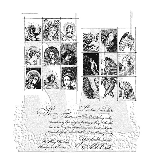 Stampers Anonymous Cling Rubber Stamps CLASSICS #9 SCF009 Preview Image