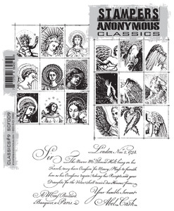 Stampers Anonymous Cling Rubber Stamps CLASSICS #9 SCF009 zoom image