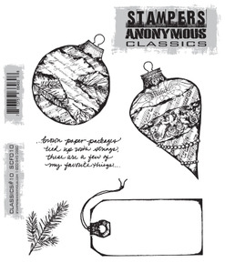 Stampers Anonymous Cling Rubber Stamps CLASSICS #10 SCF010 Preview Image