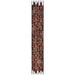 Tim Holtz Sizzix Die BRICK WALL Decorative Strip 658240
