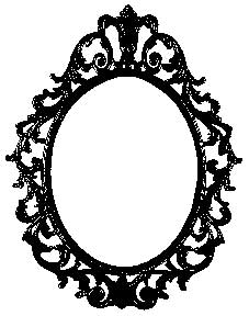 Tim Holtz Rubber Stamp ORNATE FRAME Stampers Anonymous P1-1956 Preview Image