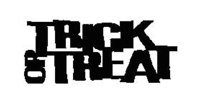 Tim Holtz Rubber Stamp TRICK OR TREAT Stampers Anonymous J3-1966 zoom image