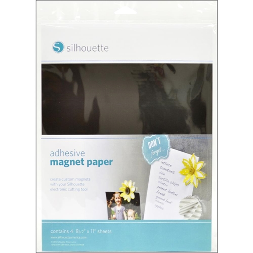 Silhouette ADHESIVE MAGNET PAPER Specialty Media Preview Image