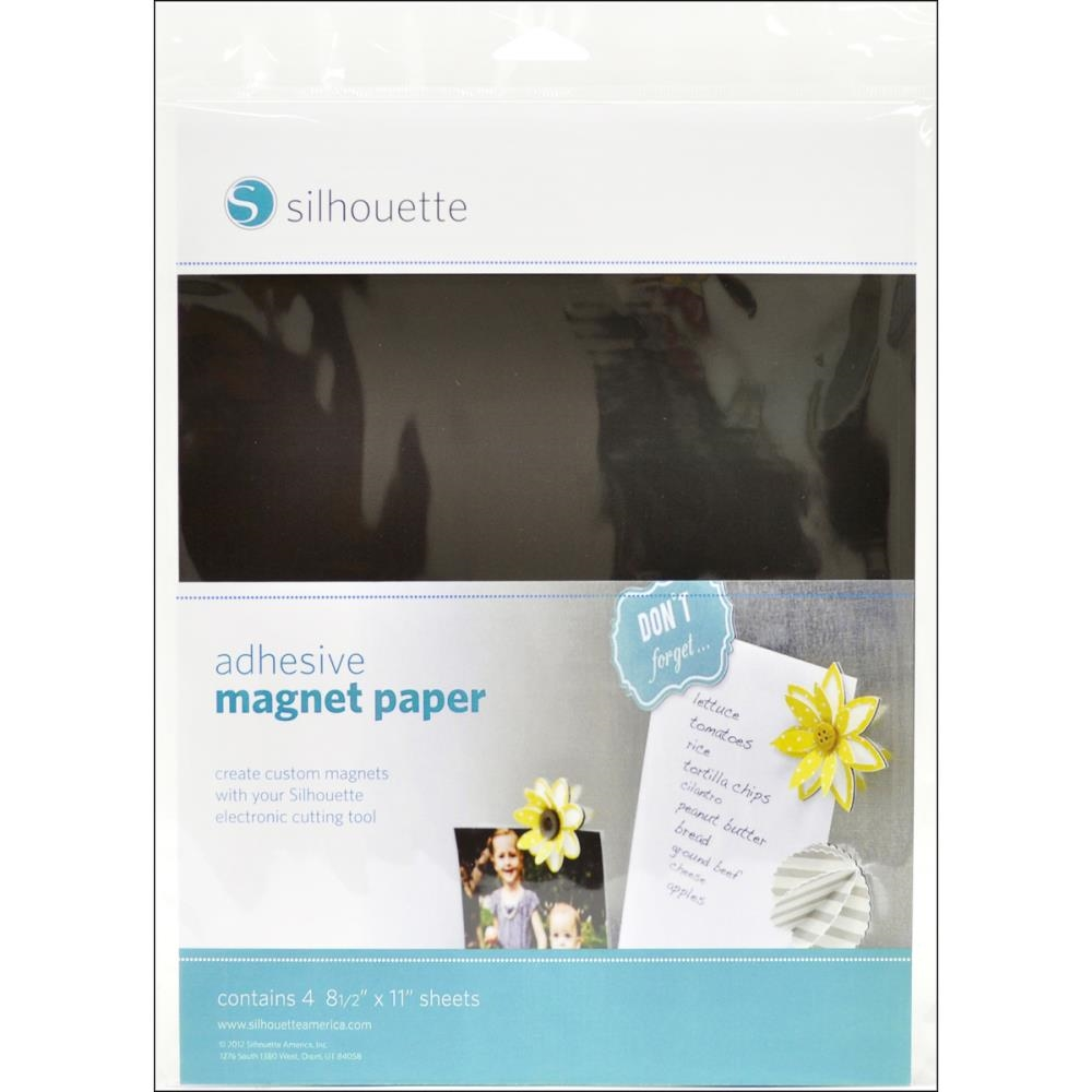Silhouette ADHESIVE MAGNET PAPER Specialty Media zoom image