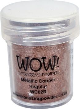 WOW Embossing Powder COPPER Regular WC02R zoom image