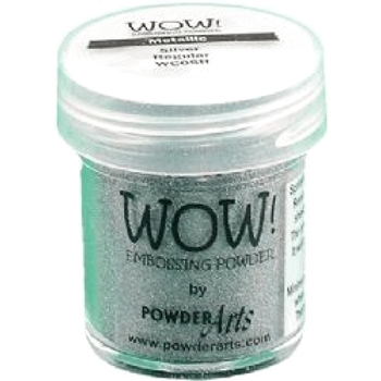 WOW Embossing Powder METALLIC SILVER REGULAR