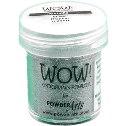 WOW Embossing Powder METALLIC SILVER REGULAR WC05R zoom image