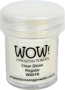WOW Embossing Powder CLEAR GLOSS REGULAR WA01R