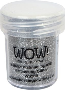 WOW Embossing Glitter PLATINUM SPARKLE WS26R Preview Image