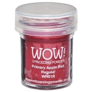 WOW Embossing Powder PRIMARY APPLE RED Regular WH01R zoom image