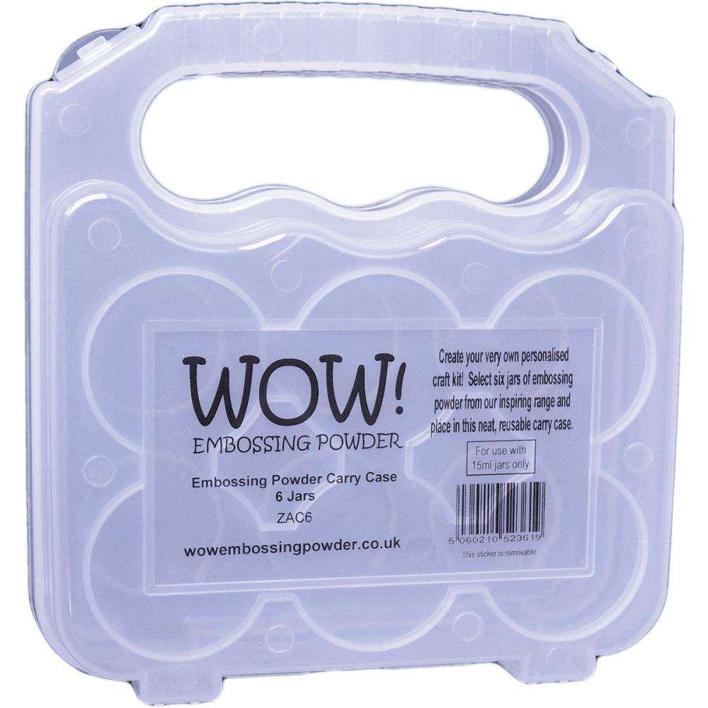 WOW Embossing Powder CARRY CASE 6 Jars ZAC6 zoom image