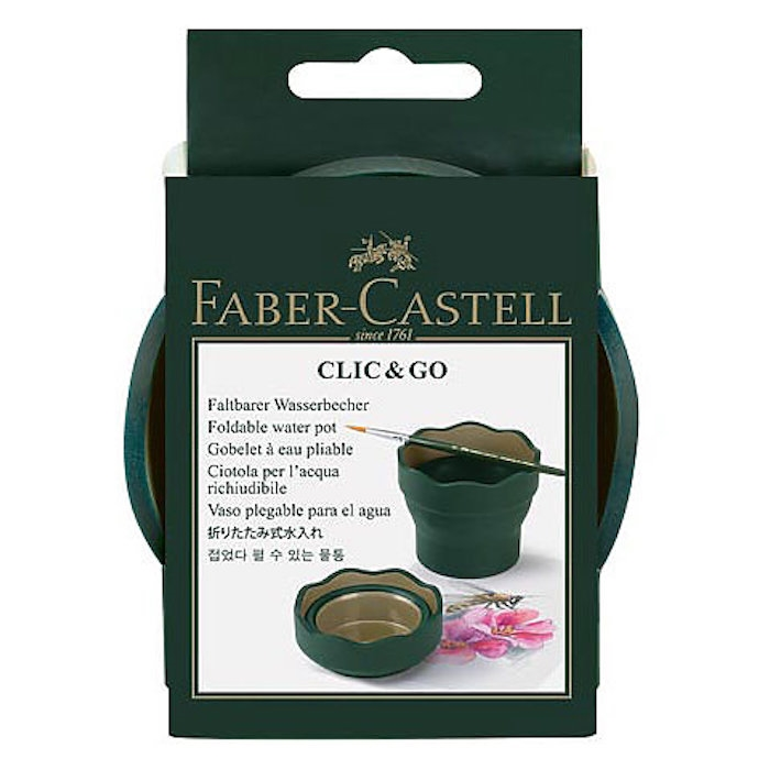 Faber-Castell COLLAPSIBLE WATER CUP Watercoloring 770310 zoom image