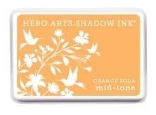 Hero Arts Shadow Ink Pad ORANGE SODA Mid-Tone AF224 Preview Image