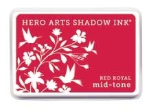 Hero Arts Shadow Ink Pad RED ROYAL Mid-Tone AF225 Preview Image
