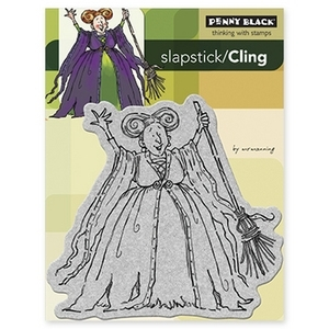 Penny Black Cling Stamp HOCUS POCUS Rubber Unmounted 40-147* zoom image