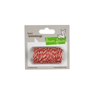 Lawn Fawn PEPPERMINT SINGLE CORD Trimmings LF397 zoom image
