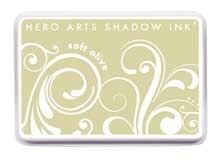 Hero Arts Shadow Ink Pad SOFT OLIVE Mid-Tone AF222 zoom image