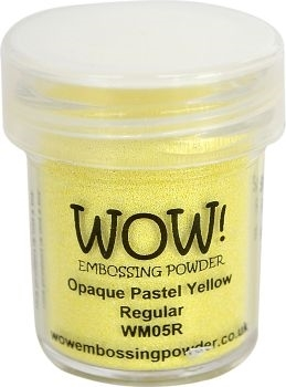 WOW Embossing Powder OPAQUE PASTEL YELLOW Regular WM05R zoom image