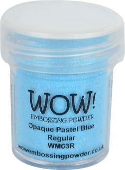 WOW Embossing Powder OPAQUE PASTEL BLUE Regular WM03R Preview Image