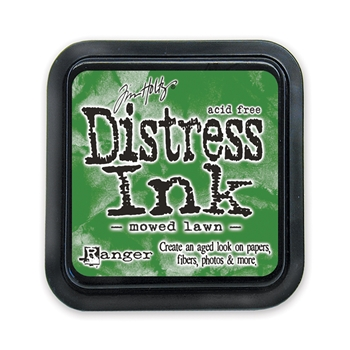 Tim Holtz Distress Ink Pad MOWED LAWN Ranger TIM35008
