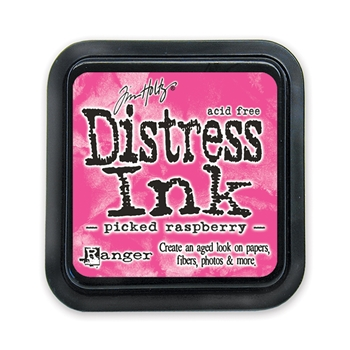 Tim Holtz Distress Ink Pad PICKED RASPBERRY Ranger TIM34995