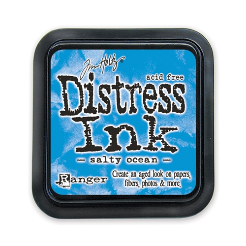 Tim Holtz Distress Ink Pad SALTY OCEAN Ranger TIM35015 Preview Image