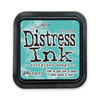Tim Holtz Distress Ink Pad EVERGREEN BOUGH Ranger TIM32854