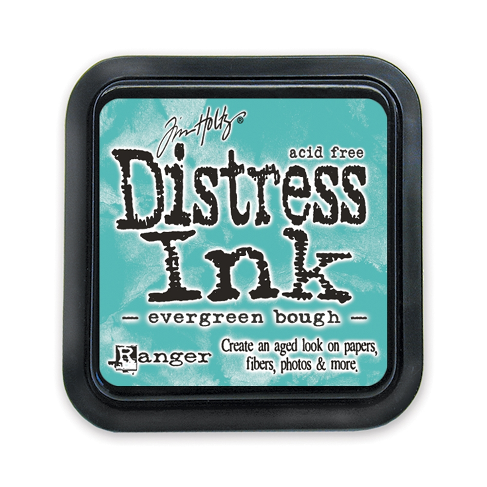 Tim Holtz Distress Ink Pad EVERGREEN BOUGH Ranger TIM32854 zoom image