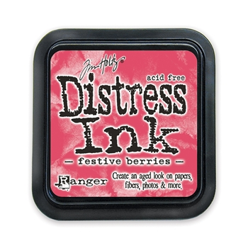 Tim Holtz Distress Ink Pad FESTIVE BERRIES Ranger TIM32861