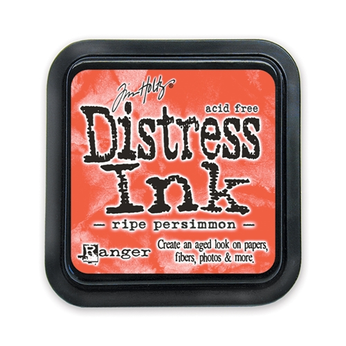 Tim Holtz Distress Ink Pad RIPE PERSIMMON Ranger TIM32830 Preview Image