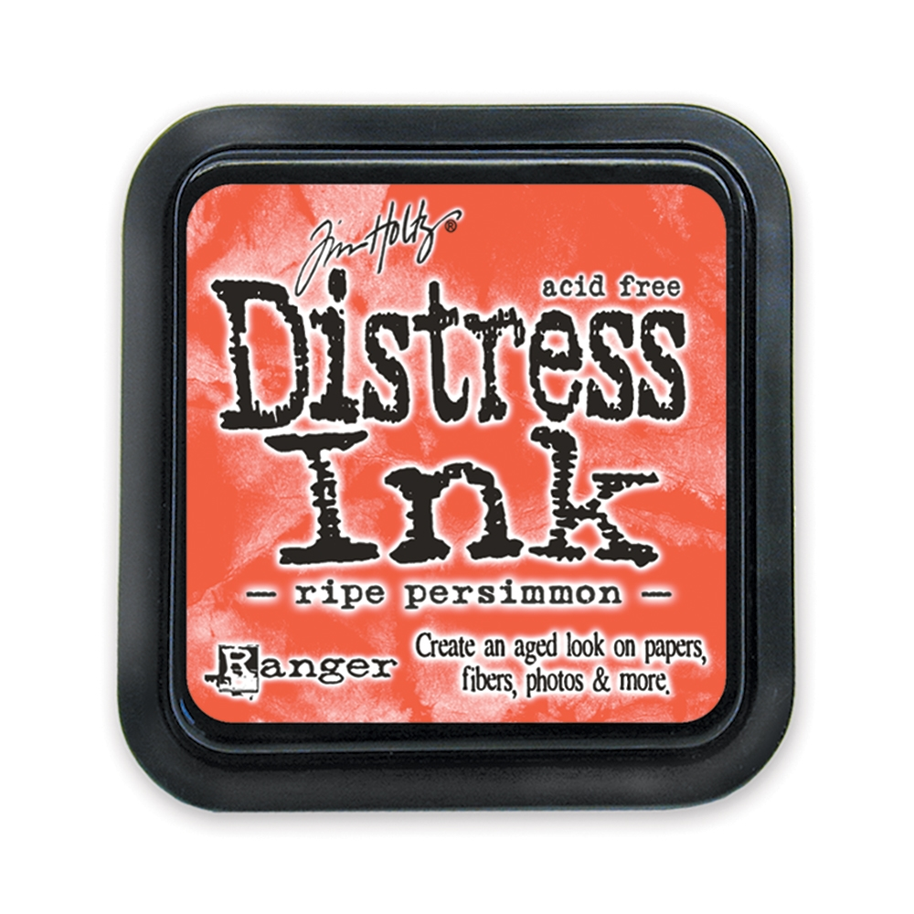 Tim Holtz Distress Ink Pad RIPE PERSIMMON Ranger TIM32830 zoom image
