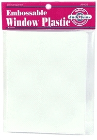 Judikins EMBOSSABLE WINDOW PLASTIC SHEETS AP512