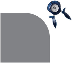 Fiskars ROUND THE BEND Easy Squeeze Punch 0.5 Inch Corner 07330* Preview Image