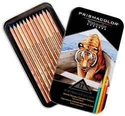 Prismacolor 12 WATERCOLOR PENCIL SET Pencils 4064*