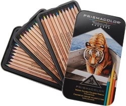 Prismacolor 36 WATERCOLOR PENCIL SET 4066 zoom image